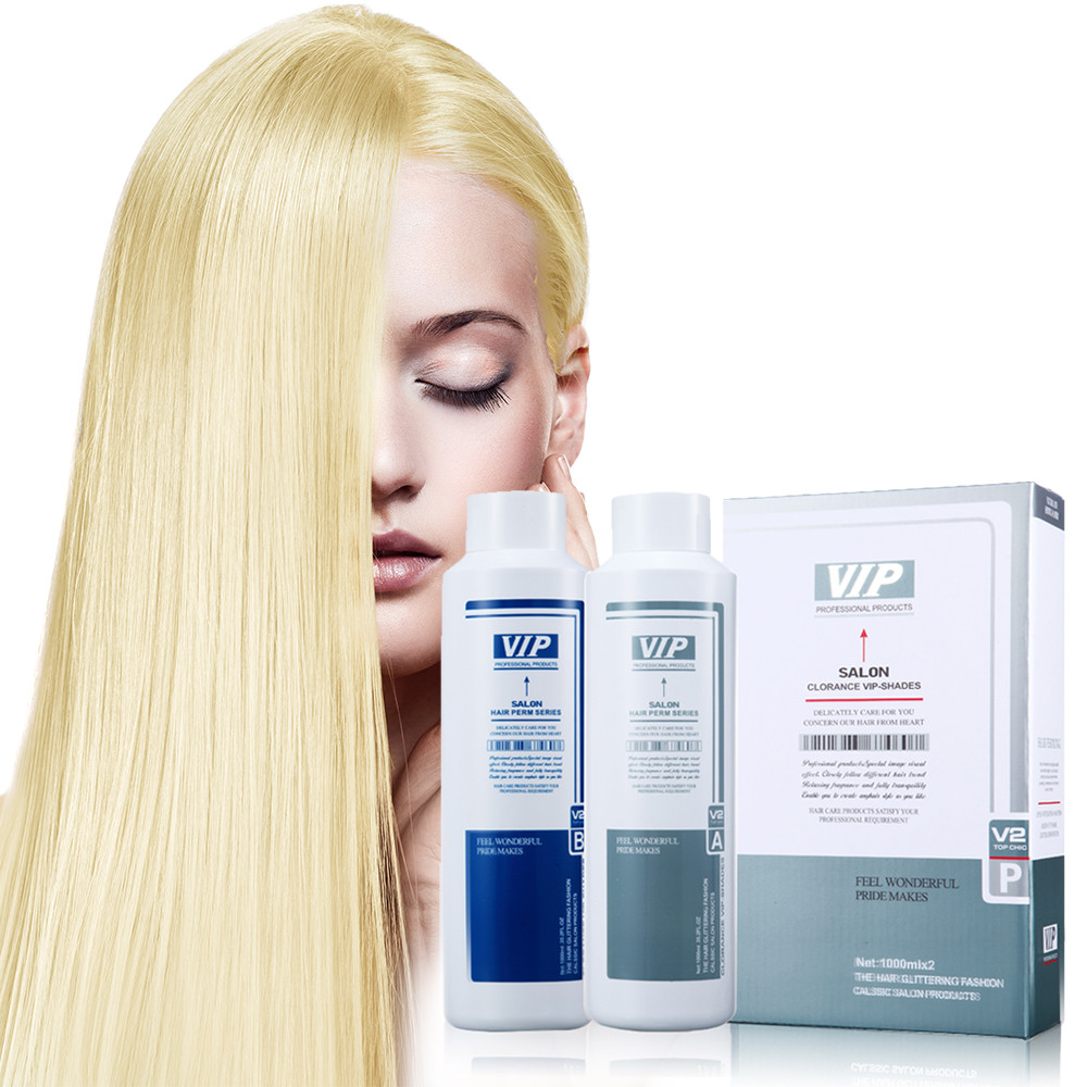 Safe Hair Straightening Neutralizer Elastic Hair Rebonding Glossy 1L