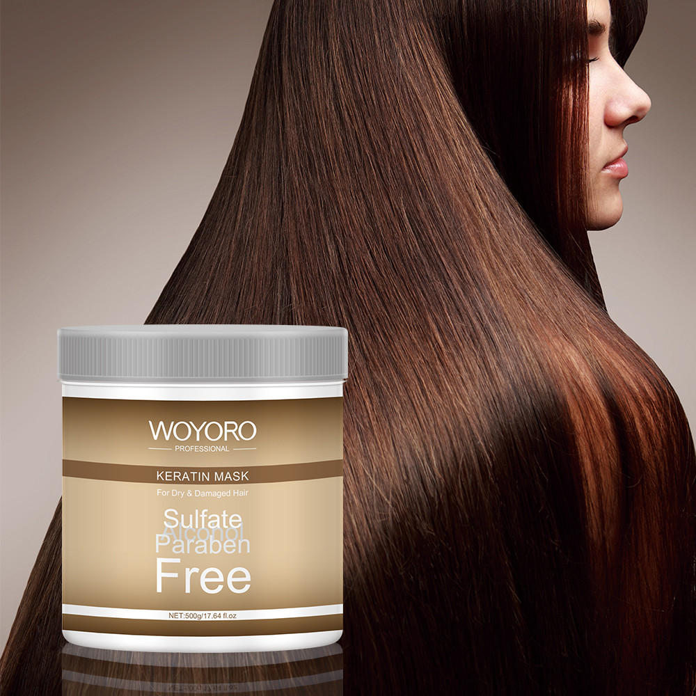 FDA Argan Oil Hair Treatment For Dry Frizzy Hair Nourishing Smoothing