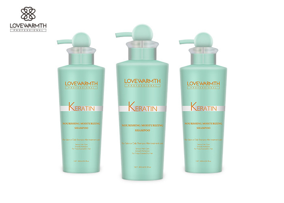 White Daily Moisturizing Keratin Treatment Dry Hair Straightening Shampoo