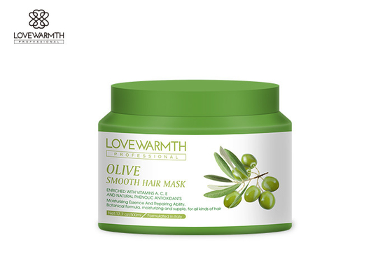 Olive Smooth 2 In 1 Hair Repair Mask Moisturizing Botanical Formula Long Lasting