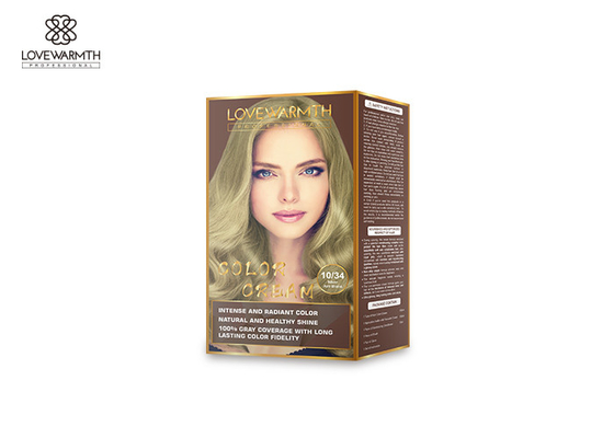 4 / 6 Burgundy Hair Color Cream , Long Lasting At Home Dye Kits No Bad Smell