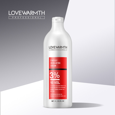 Salon Peroxide Cream 1000ML Hair Color Oxidant With 5 Years Validity