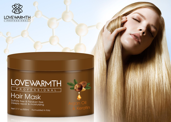 Unisex Argan Oil Hair Mask Deeply Nourishing Conditioning Treatment Repair Damaged Hair Tip