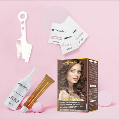 Lovewarmth Triple Protection 2.5X  Hair Color Kit